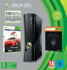 Xbox 360 250GB with Forza Essentials, Elder Scrolls V: Skyrim, 1 month Xbox Live Membership and 480 FREE Xbox Live Points £182.57 @ Game (online)