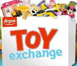 Argos toy exchange take a toy in to argos for barnardos and get a £5 voucher towards next toy purchase over £35