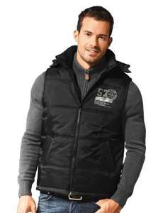 Men's Padded Gilet £9.99 @ Lidl