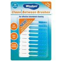Wisdom Clean Between Interdental Brushes  - 20 Pack alternative to TePe brushes! £2 @ Asda
