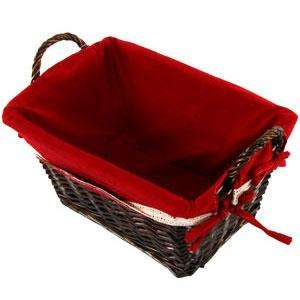 Luxury large christmas hamper/wicker basket £6.99 order online,delivery to store @ Home Bargains