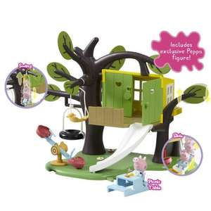 Peppa Pig Treehouse Playset - £18.49 @ Smyths Toys online and instore