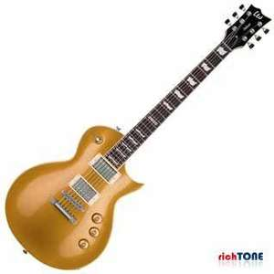 ESP LTD EC1000 Gold Top Guitar at Rich Tone Music £469, Free Delivery