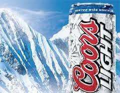Coors Light Cans 330ml x4 for £2.50 @ Morrisons, 62.5p a can!