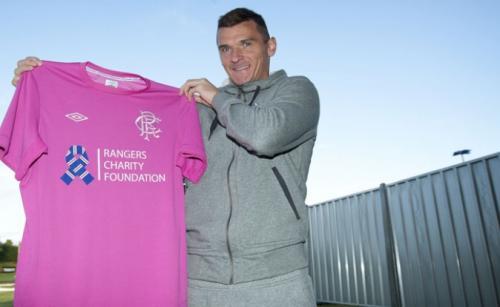 Rangers Pink Charity Shirt