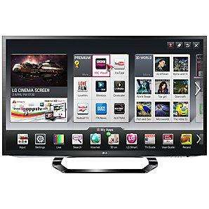 LG 47LM620T LED HD 1080p 3D Smart TV, 47 Inch with Freeview HD and 4x 3D Glasses & FREE 5 Year guarantee included!! £679.95 @ John Lewis! BACK IN STOCK!