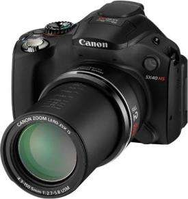 Canon PowerShot SX40 HS Black (Bridge Camera 35x Zoom)  £199 + P&P @ Bristol Cameras