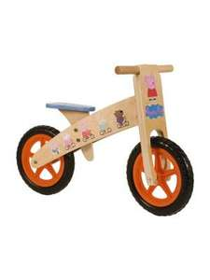 Wooden Peppa Pig Balance Bike £35.00 @ Woolworths