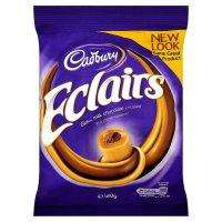 180g packet of Cadburys milk chocolate eclairs 74p @ Sainsburys