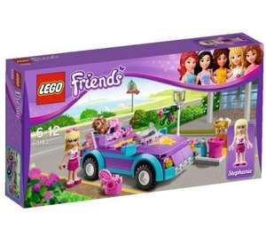lego friends stephanie convertable reduced to 7.50 at asda