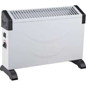2000W CONVECTOR HEATER WITH THERMOSTATIC CONTROL £14.99 (was £19.99) 5 STAR REVIEWS @ ARGOS