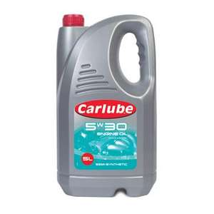 Carlube Semi Synthetic oil 5-30 4litres only £3.00 tesco instore