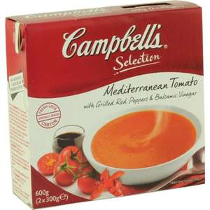 2 x 300gm Campbell's Selection Soups - 2 for £1 at Heron Foods