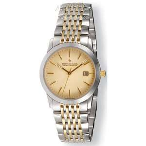 Dreyfuss & Co 1890 Mens' Stainless Steel Gold/Silver Bracelet Watch DGB00005/03 £225.00 @ Nigel Ohara