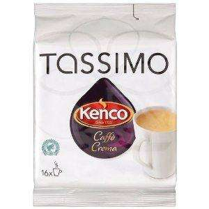 Tassimo Kenco Cafe Crema 80 T DISCs @ Amazon £17.10 delivered