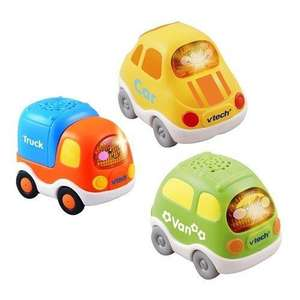 Pack of 3 Vtech Toot Toot Drivers Everyday Vehicles (van, car, truck) £4.97 @ Amazon