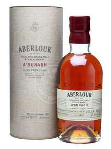 Aberlour A'Bunadh / Batch 42 Single Malt Scotch 70cl  £27.15 @  Waitrose (Instore and Online)