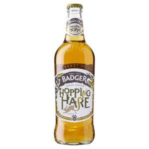 Badger Ales Fursty Ferrett and Hopping Hare £1.39 per bottle instore from ALDI