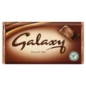 Galaxy Chocolate 250g (2x 125g) £1.00 @ Pound Empire