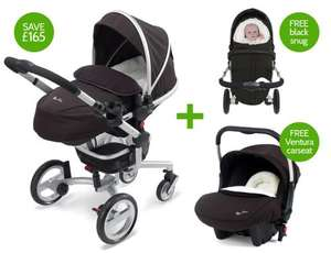 Silver Cross surf pram system inc car seat, snug and essentials pack £600.00 @ Silver Cross