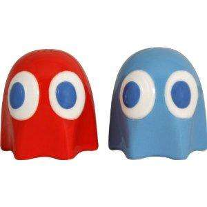 Pac Man Ghost Salt and Pepper Pots £5.99 del @ Amazon