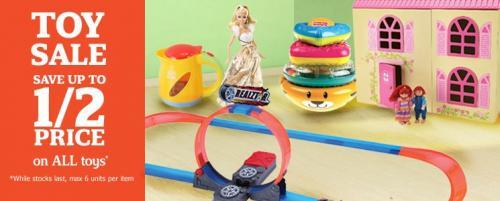 sainsburys toy sale starts wednesday