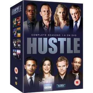 Hustle - Complete BBC Series 1-8 [DVD] Was £30.00 Now £21.50       With Free Delivery @ Amazon