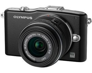 Olympus Pen Mini E-PM1 + 14-42 Lens Black £199 @ Bristol Cameras