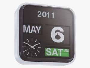 Habitat flap clock was £130.00, now £91.00 with code £81.20
