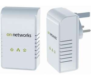 On Networks 200Mbps Powerline Kit - £19.99 with code PLA25 @ PC World