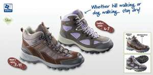 Aldi Walking Boots & Walking Shoes £19.99/£14.99