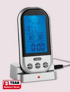 Meat Thermometer - Wireless - Lidl £12.99