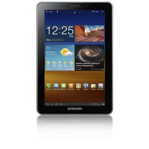 Samsung Galaxy Tab 7.7 inch Tablet (16GB, WLAN, 3G, GPS, Android 3.2) - Light Silver (Amazon Marketplace - Laptop Outlet) - £319
