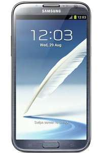 Samsung galaxy note 2 for 33.92 per month for 24 months contract (total price £814.98) @ Into Mobile Phones