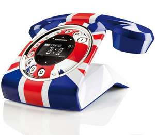SAGEMCOM SIXTY RETRO UNION JACK STYLISH DIGITAL CORDLESS PHONE W/ ANSWER MACHINE £39.99 @ Ebay/telephonesonline