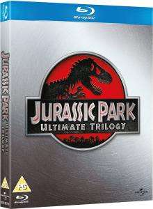 Jurassic Park Ultimate Trilogy Blu-Ray Box Set £9.89 Using a Code @ IWOOT