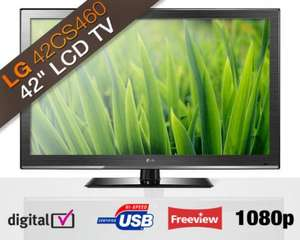 Ebyer on ebay - Lg 42CS460 42in Full HD 1080p LCD TV Freeview MCI USB BRAND NEW WITH A 1 YEAR MANUFACTURER WARRANTY - £299.99 @ Ebuyer Express eBay