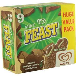 Walls Mint Feast 9 Pack @ Heron Foods £2