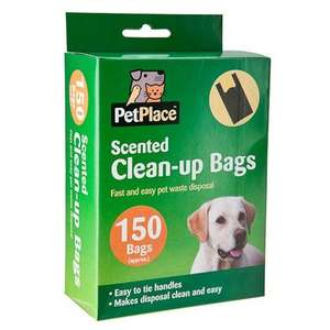 150  (poo bags)  Clean-Up Bags Poundland