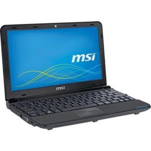 MSI Wind U180 10 Inch Netbook - Black. £149.99 @ Argos