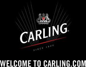 Get a Free pint of carling (at participating pubs) Greene King