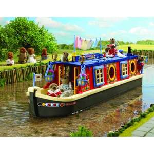 Sylvanian Families Waterside Canal Boat now £33.49 del @ Amazon