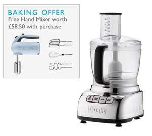Dualit food processor and free handmixer for £259