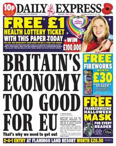 Saturday newspaper offers - see post - Sun/ Express/ Mail/ Star/ Telegraph/ Mirror/ Times
