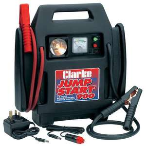 Clarke Jump Start 900 Portable Booster Charger £55.72 @ tool-net.co.uk