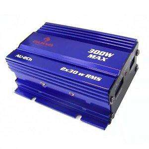 Auna 300 Watt Mini Car Hifi Amplifier £21.90 FREE POSTAGE From Hifi-tower.co.uk