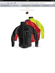 Altura Night Vision Evo 2012 cycling jacket £79.99 @ CyclesportsUK