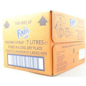 7L Fanta POSTMIX makes 45 Litres of Fanta £5.99 combined with tesco value water = 22p for a per carbonated litre of FANTA!!!!