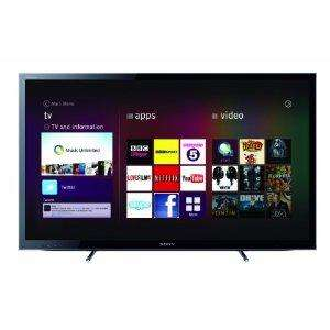 """Sony 40"""" HDTV, 2 pairs of active 3D glasses, Free 3D Bluray player, 3 Months Love Film Instant + £50 Amazon Gift Voucher"""
