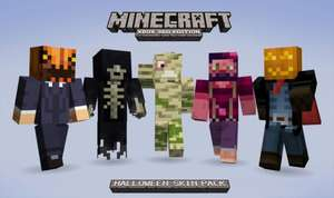Minecraft Halloween Skinpack (Xbox 360) 160 points.All proceeds (full value of points) to charity (Macmillan Cancer Support,Sands Lothians,Child's Play & Block by Block)